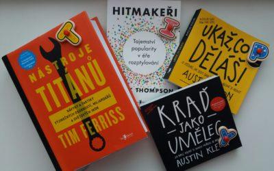 Tři odstíny rozvoje – tipy na čtení, poslouchání a online učení